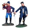 Union Artillery Command Set #1, Officer and Bugler