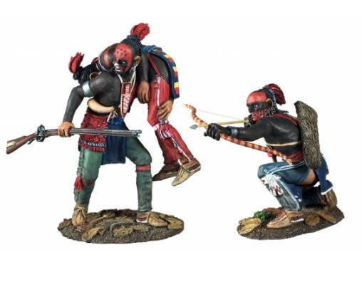 woodland indian toy soldier