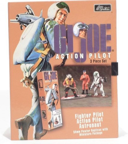 GI Joe Action Pilot 3 Piece Boxed Set
