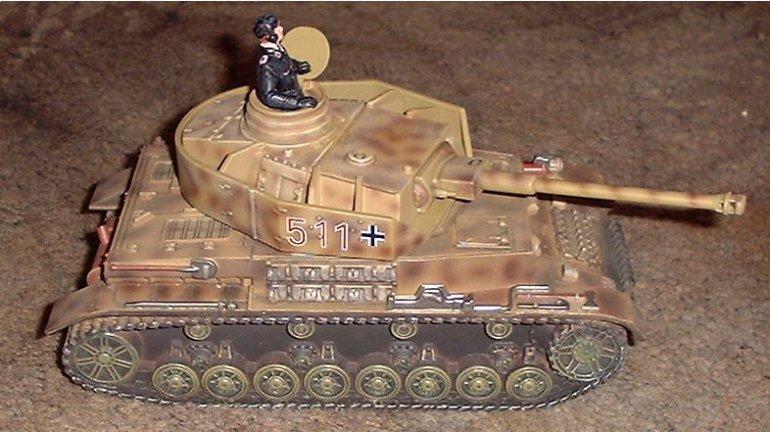 German Panzer IV Tank #511