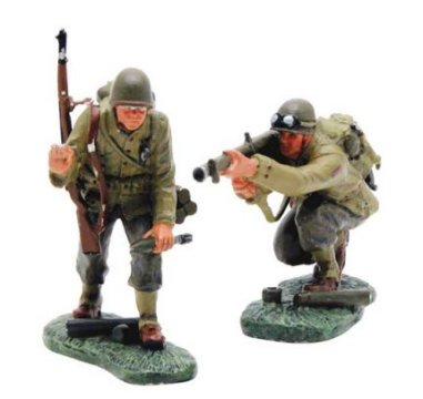 US Big Red One Two-Man Anti-Tank Team
