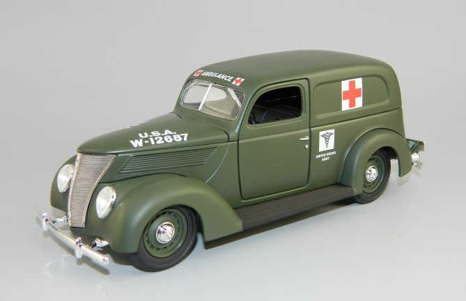1937 Ford WWII Ambulance - SpecCast