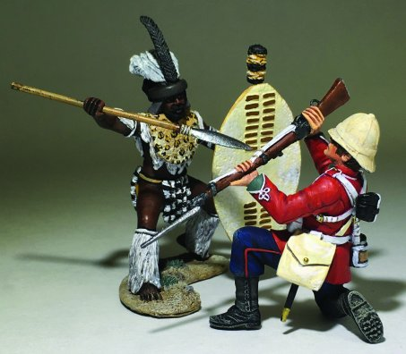 Empire Miniatures Zulu Wars ZW-2006 24th Foot Lance Serjent at the ...