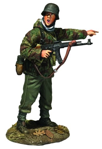 German Grenadier in Parka with MP-44 Pointing