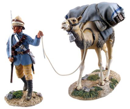 British Camel Corps Trooper and Pack Camel #1