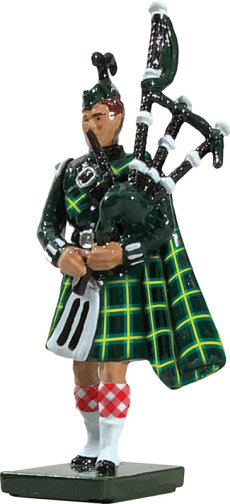 Gordon Highlander Piper