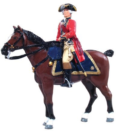 British Officer Mounted 1st Foot Guards - 1754-1763