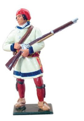 French Canadian Militia in Capote, 1755-17631 Figure