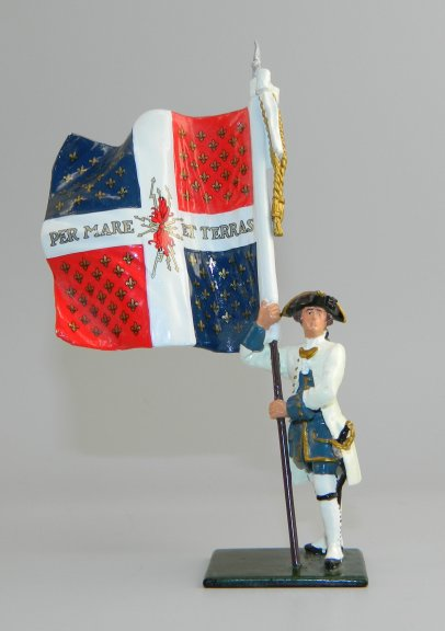 Compagnies franches de la Marine Color, 1754-1760