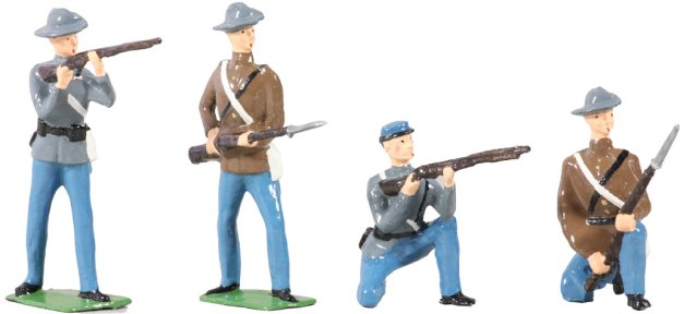 American Civil War Confederate Infantry Set