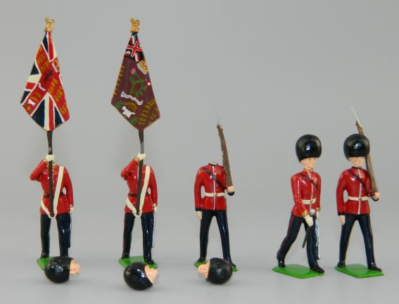 British 2nd Bn. Scots Guards Colour Party