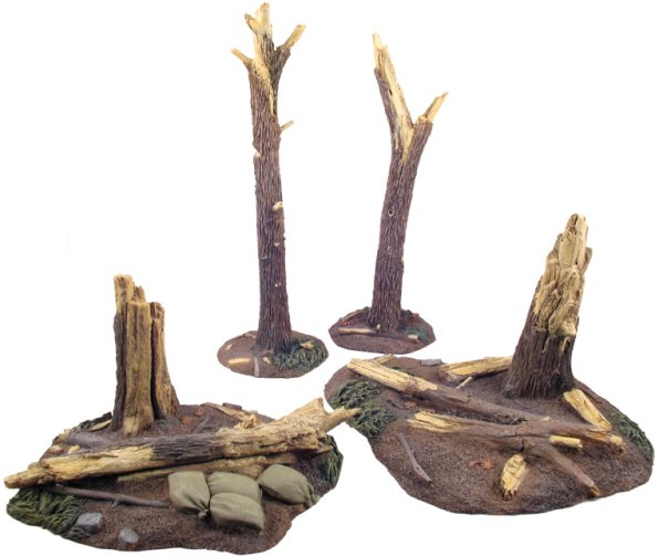 WWI/WWII Tree Stumps