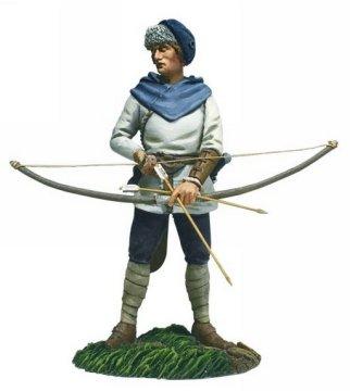 Saxon Archer 1 Arrow Nocked Recene62123toy Soldiervikingmetal