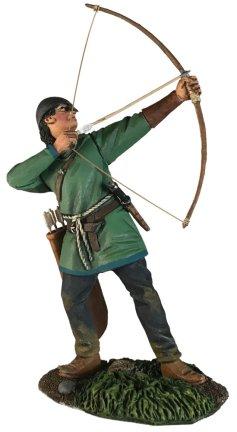 Saxon Archer 3 Arrow Loosed Scotend62129toy Soldierviking