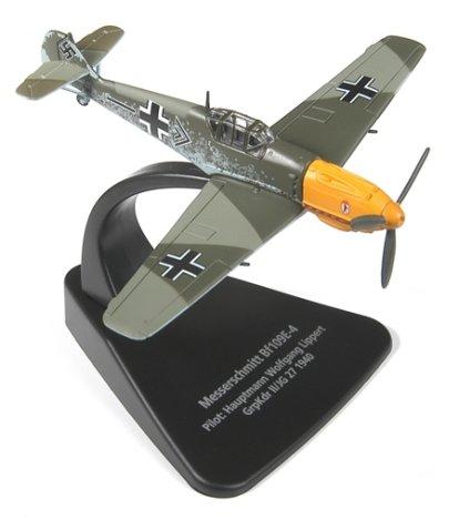 Messerschmitt Bf 109E-4 – Hauptmann Wolfgang Lippert, Gruppenkommandeur II./JG 27, Luftwaffe, 1940