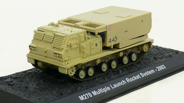 M270 MLRS (with Movable Launch System) – U.S. Army, 2003