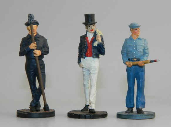 Three Sailors by the American Military Historical Society