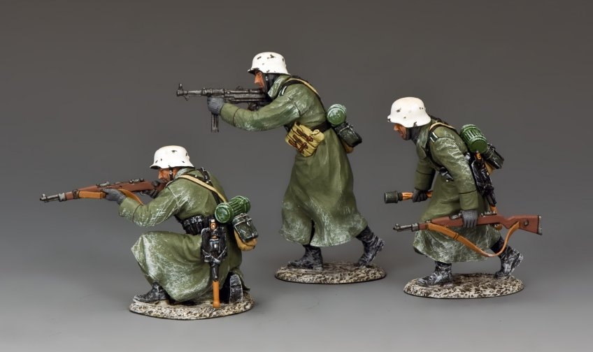 """Winter Attack!"" Three Panzer Grenadiers"