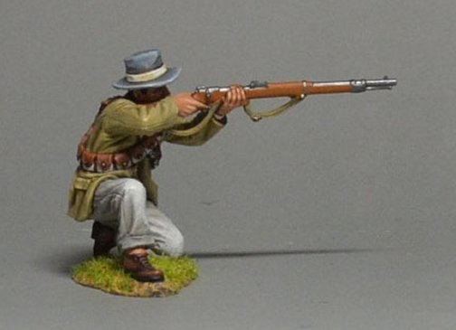 Boer Commando Kneeling Firing