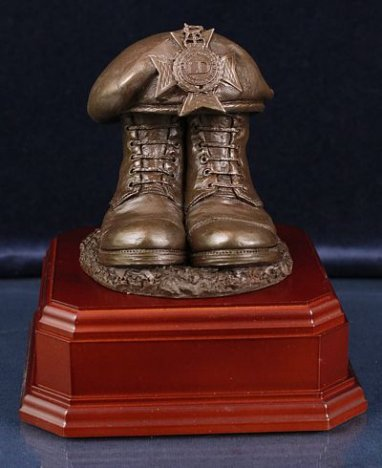 Light Dragoons Boots and Beret, Square Presentation Base