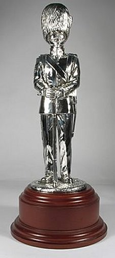 Grenadier Guards Sergeant, 1924, Silver on a Presentation Base