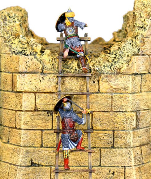 Mamluk Warriors Scaling Ladder