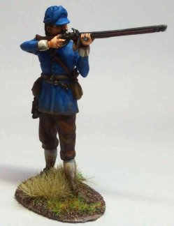Musketeer, Lord Byron's Regiment of Foot Firing #1