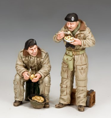 British Dismounted AFV Crew Set #1