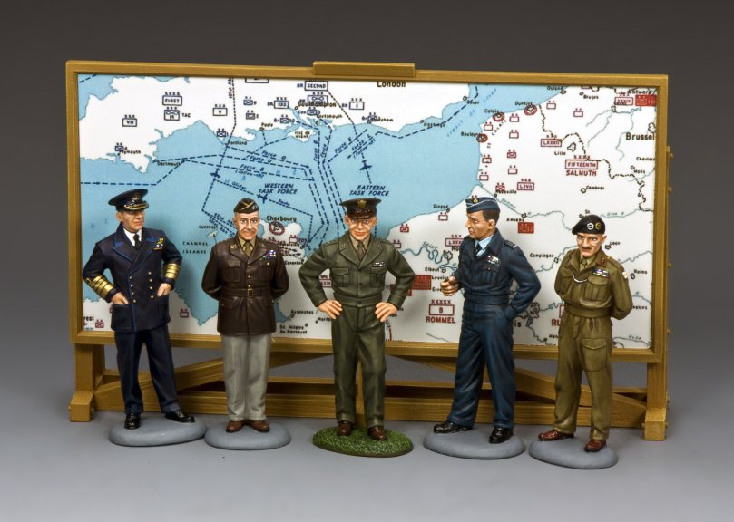 D.Day Commanders Planning Group Special Set #2
