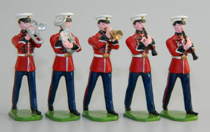 """The President's Own"" U. S. Marine Band - Five Musicians"