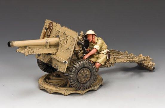 25 Pdr  Field Gun - British