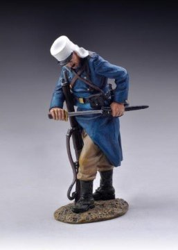 Legionnaire Fixing Bayonet - Khaki Trousers