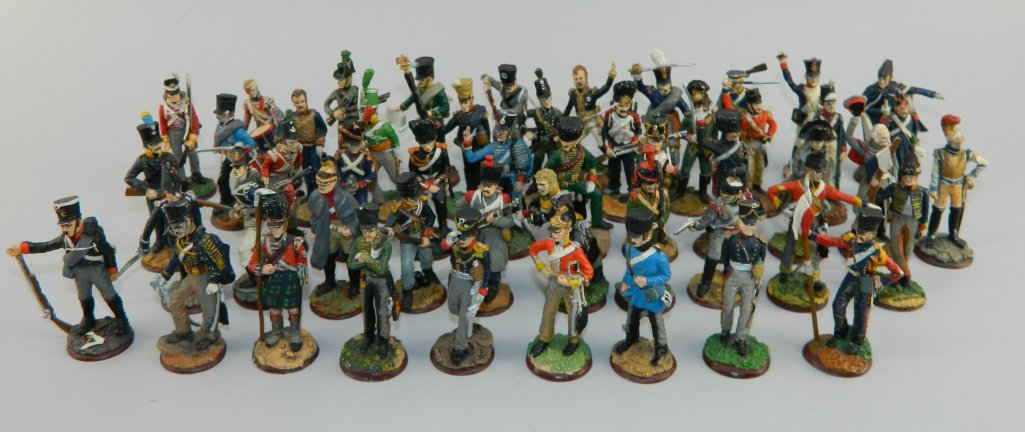 Regiments of Waterloo - 50 Figures