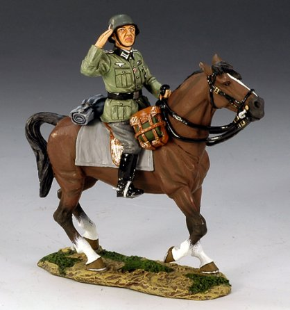Wehrmacht Mounted Officer