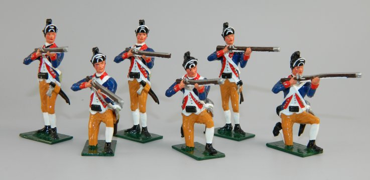 Maryland Regiment Firing
