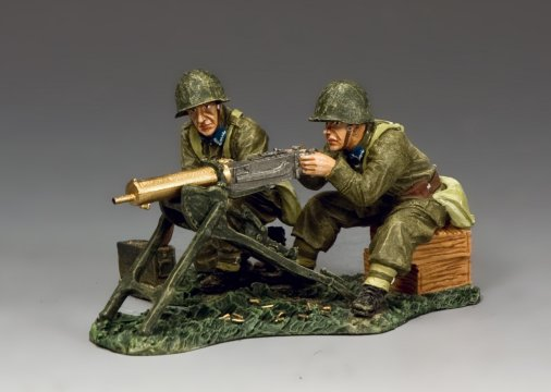 MG08 Machine Gun Team