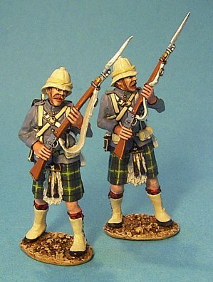 Gordon Highlanders, 2 Figures at the Ready