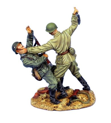Stalingrad Hand to Hand - Russian Attacking