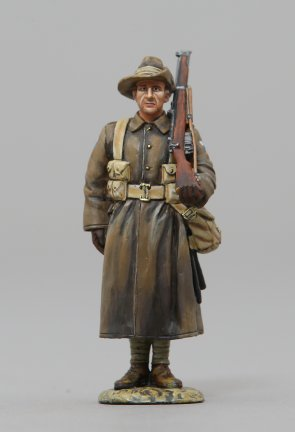 Queensland Australian Sentry in Greatcoat