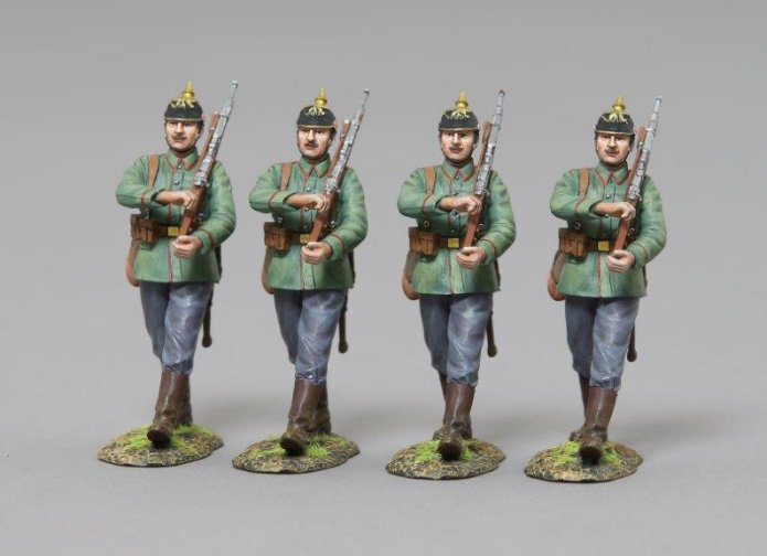 German Marching Infantry Set