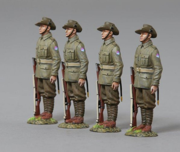 26th Battalion Australian Soldiers on Parade