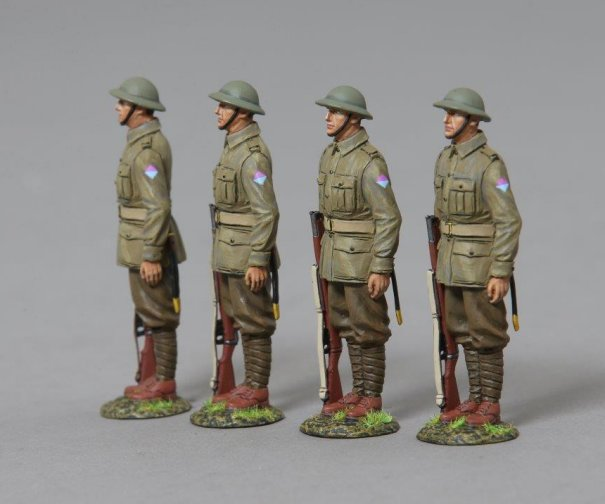 26th Battalion Australian Privates on Parade
