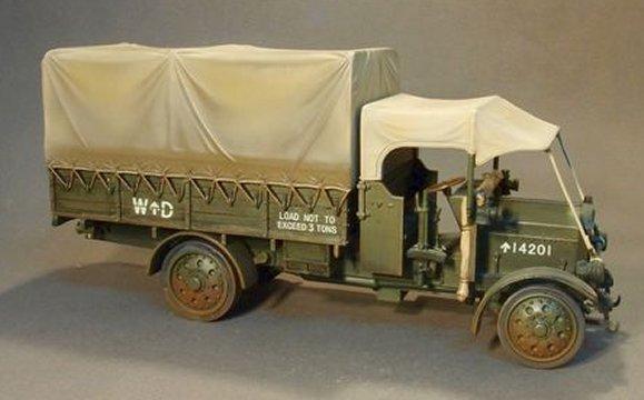 Wwi Thornycroft Type J Truck