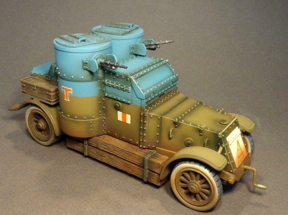 17th (Armoured Car) Battalion, Tank Corps, Austin Armoured ...