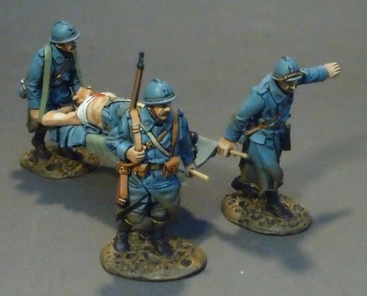 Stretcher Party, French Infantry 1917-1918