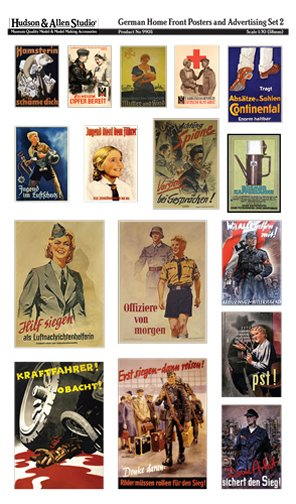 German Home Front Posters and Advertising #2