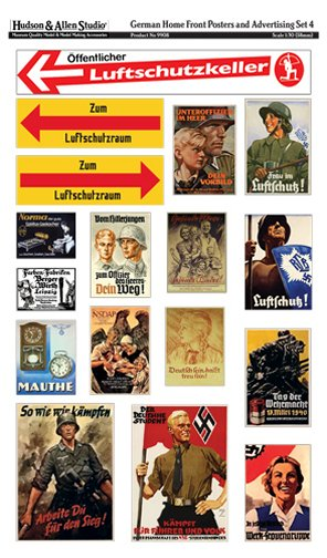 German Home Front Posters and Advertising #4