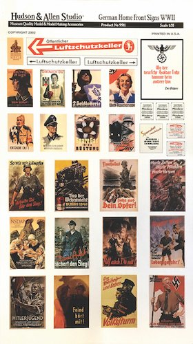 German Homefront Posters & Signs
