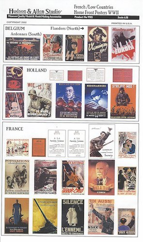 French/Low Countries Homefront Posters and Notices