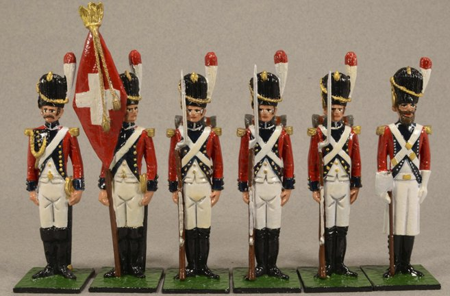 Swiss Grenadiers, 1808